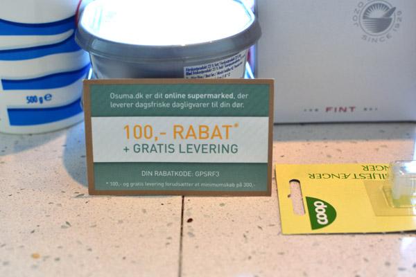 Rabat og gratis levering fra Osuma