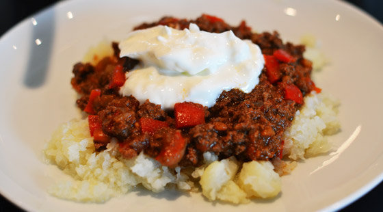 Dukan Chili Con Carne opskrift
