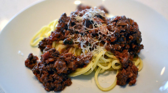 Jamie Olivers Spaghetti Bolognese